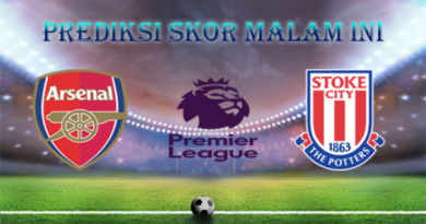 Prediksi Skor Bola Arsenal vs Stoke City 1 April 2018
